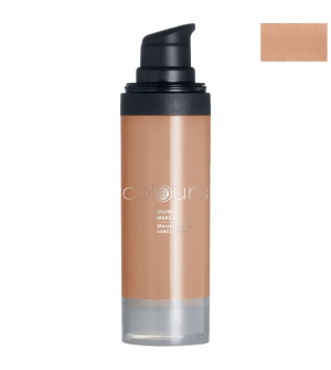 LR Colours bezolejový make-up Dark Sand - 30 ml