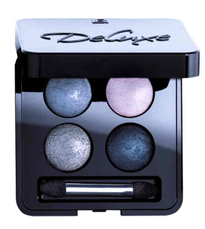 LR Deluxe Quattro Sublime Marine umělecké oční stíny - 4x 0,5 g