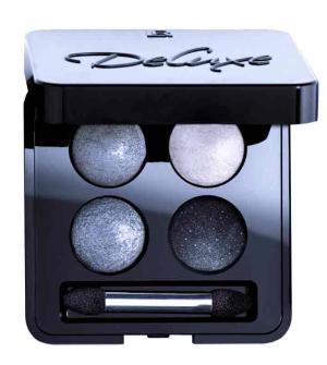 LR Deluxe Quattro Night Rock umělecké oční stíny - 4x 0,5 g