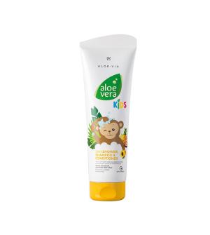 LR Aloe Vera Jungle Friends 3in1 šampon, kondicionér & sprchový gel - 250 ml
