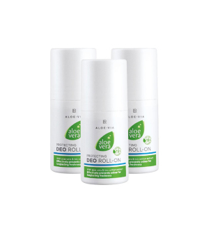 LR Aloe Vera Ochranný Deo Roll-on Série 3 ks x 50 ml