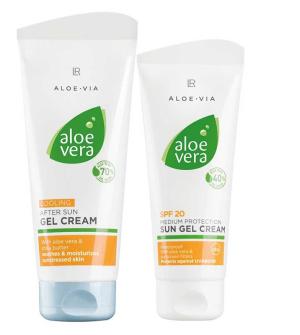 LR Aloe Vera Solární Série 1 pro předopálenou pokožku