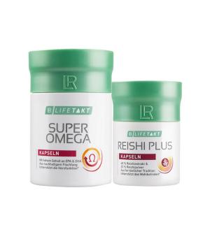 LR LIFETAKT Série Reishi Kapsle + Super Omega Kapsle