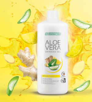 LR Lifetakt Aloe Vera Drinking Gel Immune Plus (zázvor) 1 000 ml